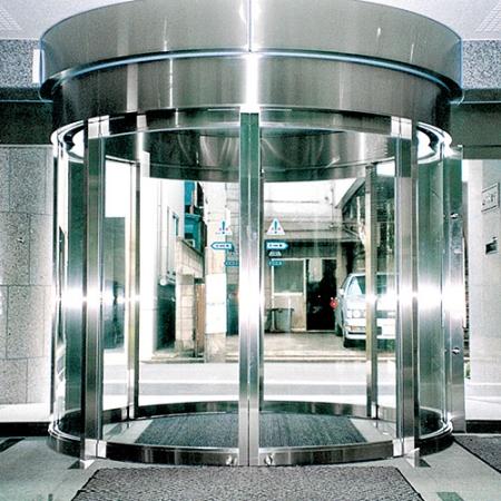Pintu Kaca Otomatis Circular Automatic