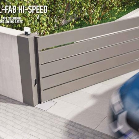 Nice Pintu Kaca Otomatis Model L-FAB Hi-Speed