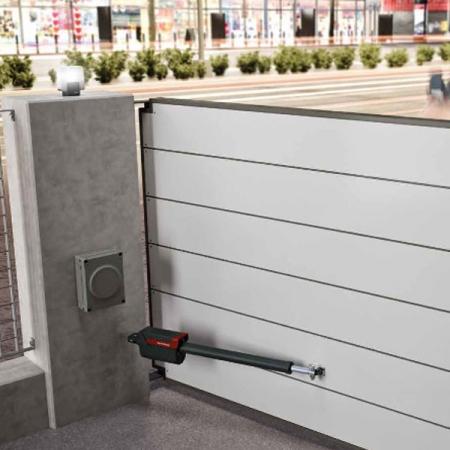 Pintu Kaca Otomatis Nice Titan Hi-Speed