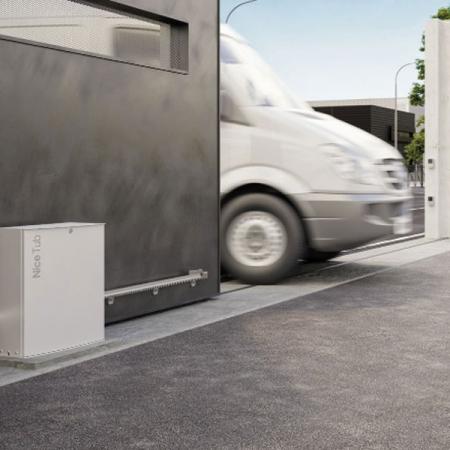 Pintu Kaca Otomatis Nice TUB & D-PRO 500