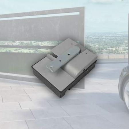 Pintu Kaca Otomatis Model Nice X-FAB