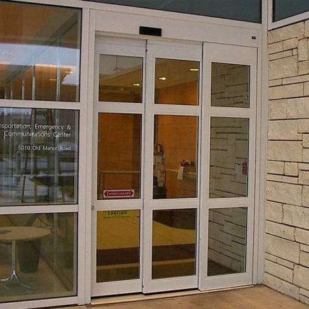 Pintu Kaca Otomatis Food Court
