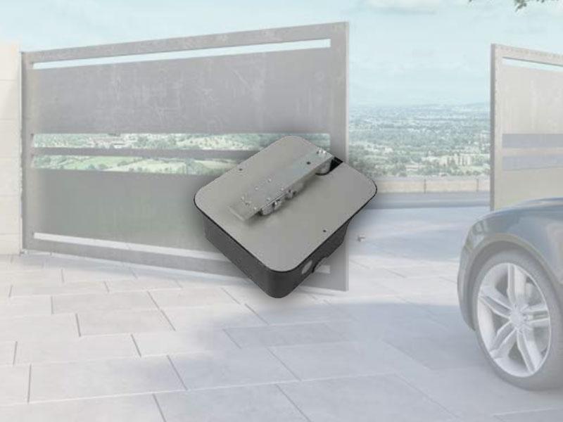 Pintu Kaca Otomatis Model Nice M-FAB